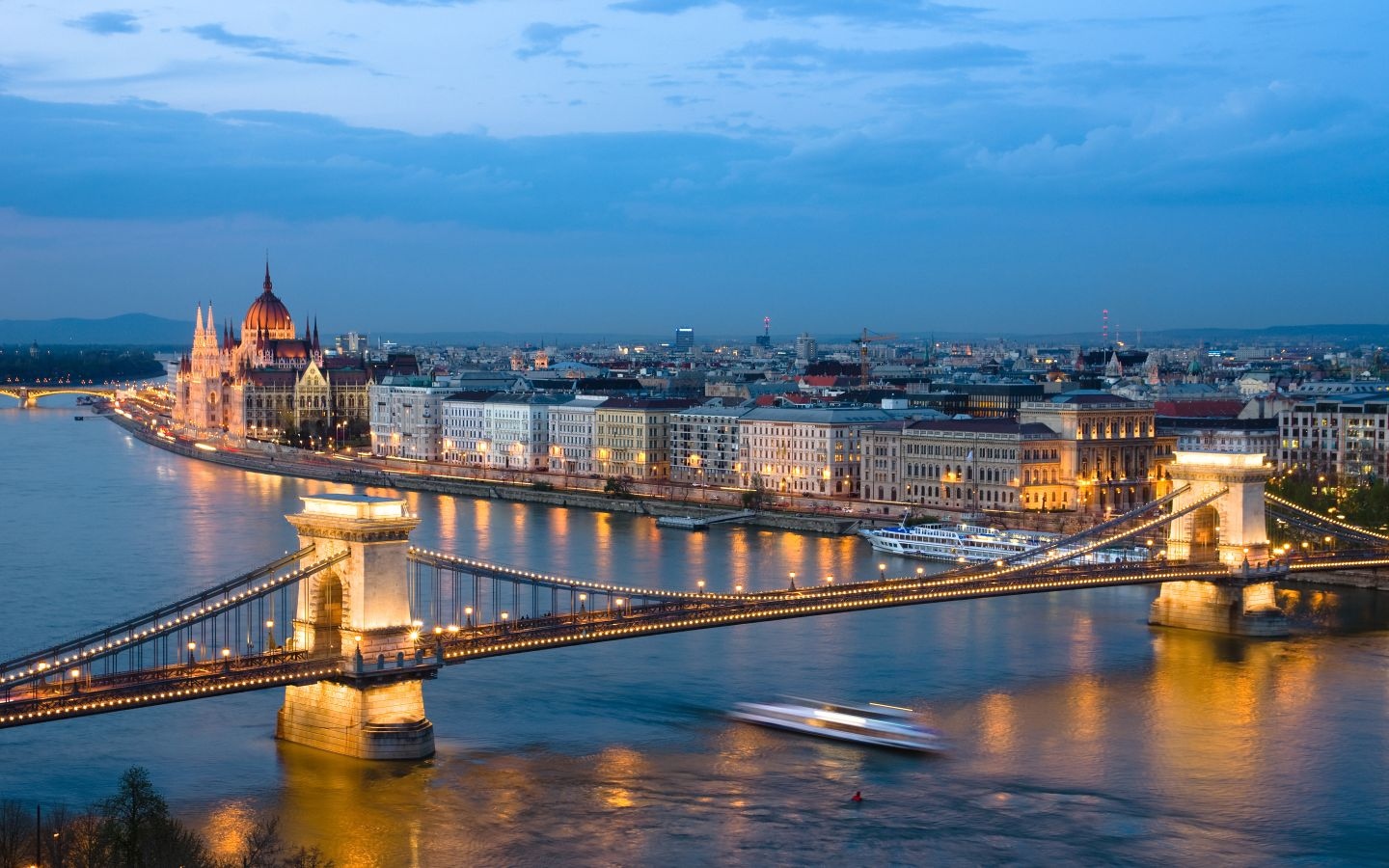 City View of Budapest, Hungary